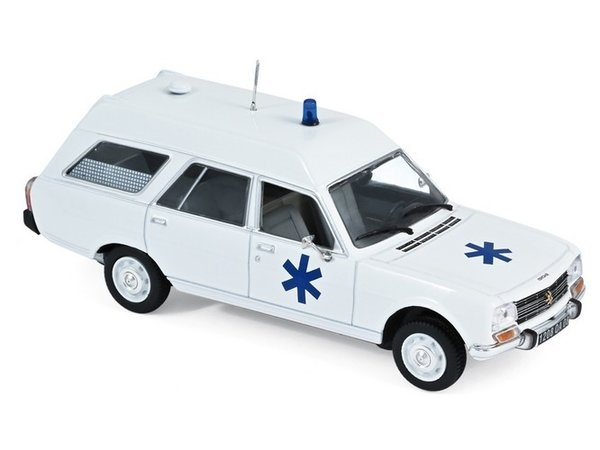 Peugeot 504 break 1979 Ambulance NOREV