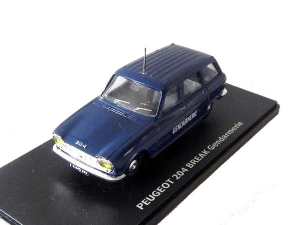 Peugeot 204 break Gendarmerie ELIGOR/ATLAS