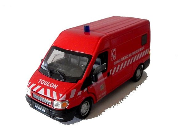 Ford Transit Pompiers CARARAMA