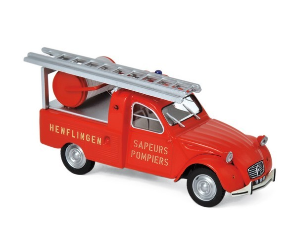 Citroën 2CV Pick up 1963 Pompiers NOREV